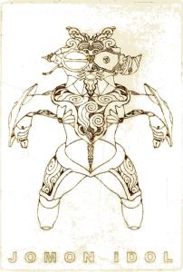 「縄文 IDOL-01」ナカムラジン