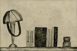 「堀辰雄の机」オーライタロー