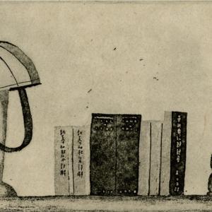 堀辰雄の机